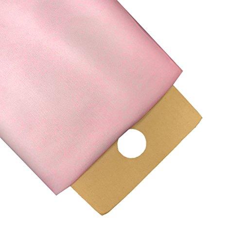 LA Linen 40-Yard Tulle Fabric Bolt, Light Pink, 54-Inch - Tulle Italian