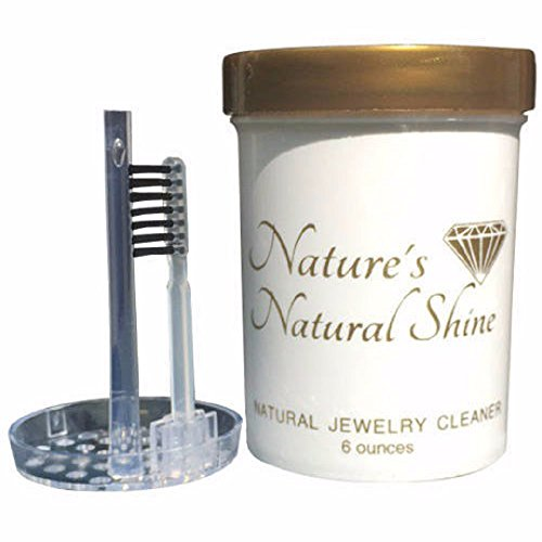 Acadien Charm Nature's Natural Shine| Natural Jewelry Cleaner| Silver, Gold, Fine, Engagement Ring Jewelry Cleaner| Ammonia Free|Organic