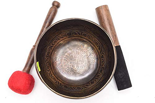 6,46'' Singing bowl (Note C# / Frequency 275 Hz) Hand forged in Nepal/Iching/AKV-101 / Great sound
