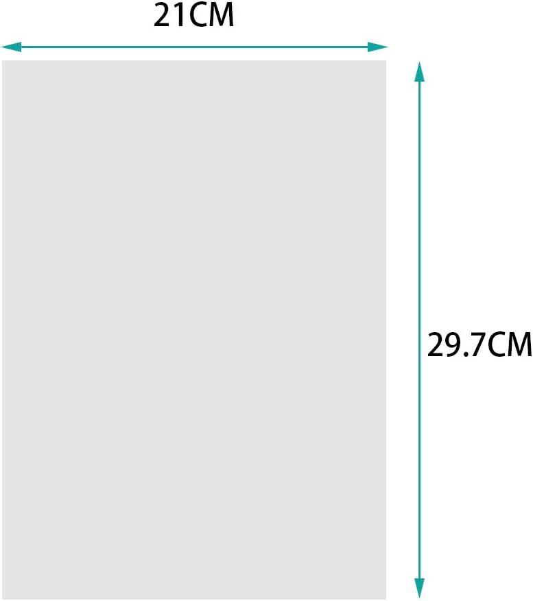 WXJ13 Clean Overhead Proyector transparencias tamaño A4, 50 hojas ...