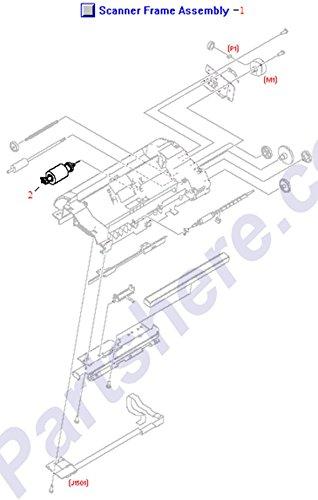 HP RM1-0883-000CN OEM - Scanner frame assembly - Includes the middle frame (Scanner Frame Assembly)