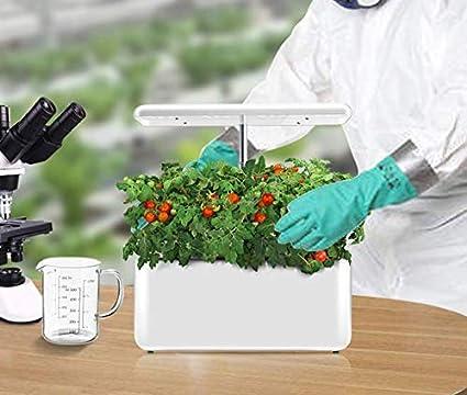LLDKA Casa Inteligente Interior del pote de Verduras hidropónicas máquina hidropónico de Fresas de Tomate Tierra la Cultura de Verduras