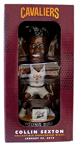 - Collin Sexton Young Bull Bobblehead Cleveland Cavaliers SGA 1-29-19