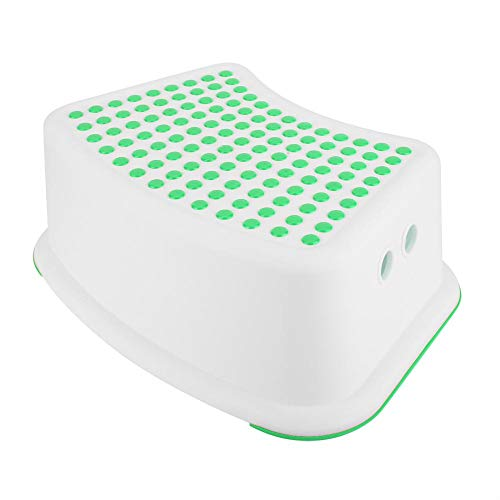 Garosa Step Stool Comfortable Anti Slip Safe Step to Improve Colon Health and Improve Symptoms of Hemorrhoids Constipation Bloating(Green)
