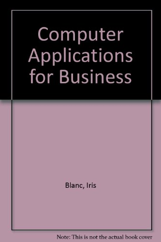 Computer Applications for Business