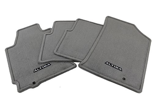 Genuine Nissan Accessories 999E2-UT010GY Carpeted Floor Mat for Select Altima Models - 4 Piece (Altima 4 Piece)