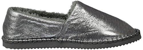 Femme flop Flip silver Mocassins Shiny 907 Argenté Flippadrilla nzwvHO6