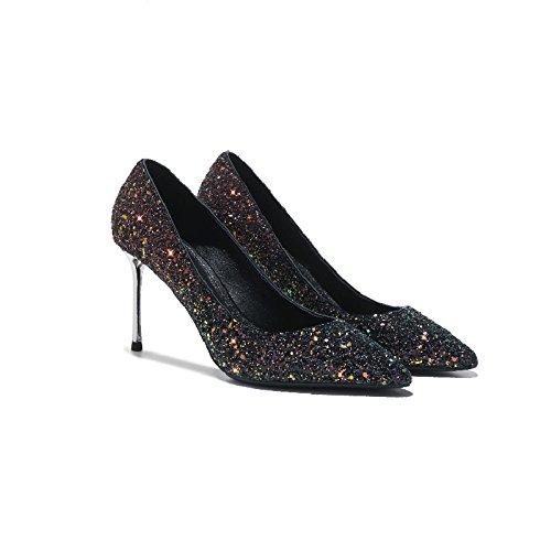 Femmes Stilettos 8 Nuit Mariage De Robes Fête 5cm RedGreen Cuir Escarpins Talons Boîte Chaussures Chaussures En Simples Chaussures Mariée De Hauts rxXPwar