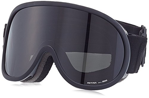 POC Retina All Black Ski Goggles, Uranium Black, One Size by POC
