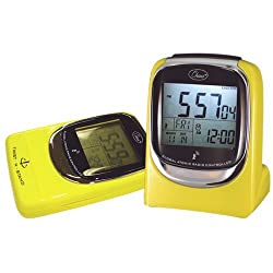 Chass ''Global Sync'' Atomic Clock in Shiny Yellow