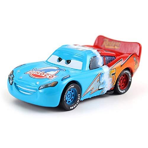 Disney Cars3 Disney Pixar Cars Pixar Cars No.33 Mood Springs Metal Diecast Toy Car 1:55 Children's Birthday Present - Springs Mood