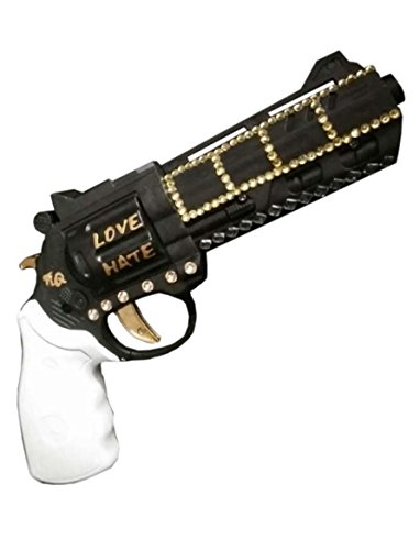 OUTEXPERT Suicide Squad Cosplay Props Gun Harley Quinn's Gun