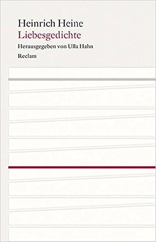 Liebesgedichte Amazoncouk Heinrich Heine Ulla Hahn