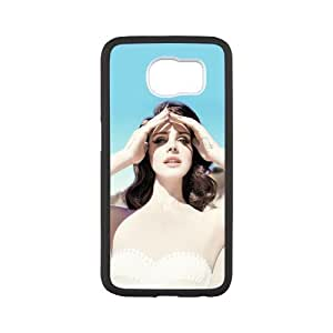SOKY(TM) Lana Del Rey Galaxy S6 Edge Back Cover, Protective Snap On Case Skin TPU For Samsung Galaxy S6 Edge