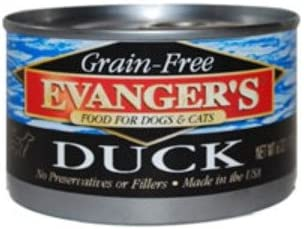 Evanger s Grain-Free Duck Canned Food
