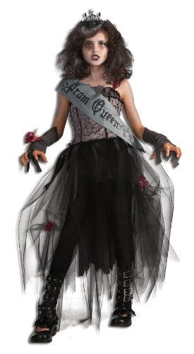 Scary Deluxe Costumes (Rubie's Deluxe Goth Prom Queen Costume - Small)