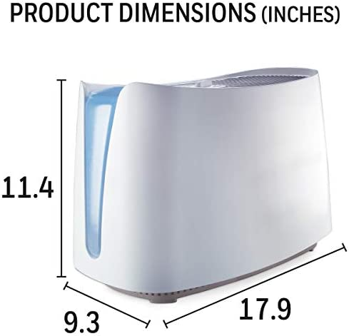41rOqjp9rPL. AC - Honeywell HCM350W Germ Free Cool Mist Humidifier White