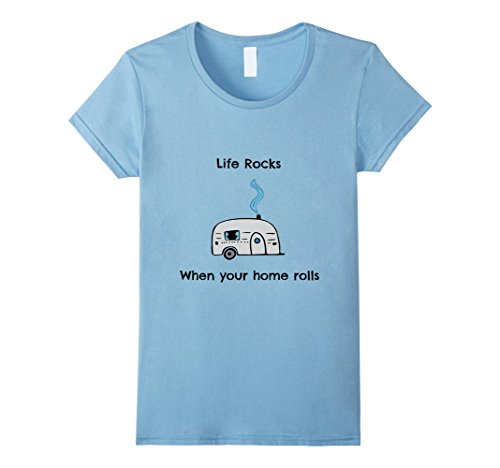 Womens Life is better in a Camper! RV Life Shirt for RV C...
