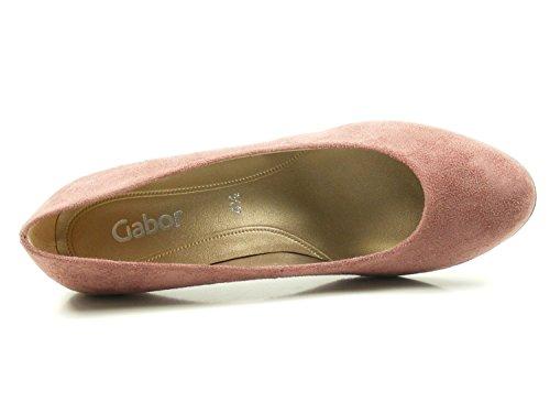 F Rosa 39;Farbe Schuhgröße Microvelour 85 200 Gabor Damen Weite Pumps Schuhe 0UwaqRvR