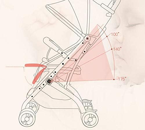 ベビーカーは、車の座席旅行システムを収集するためにリクライニング軽量折りたたみ傘チャイルドベビーカー可変トロリーケースワンボタンを座ることができます
