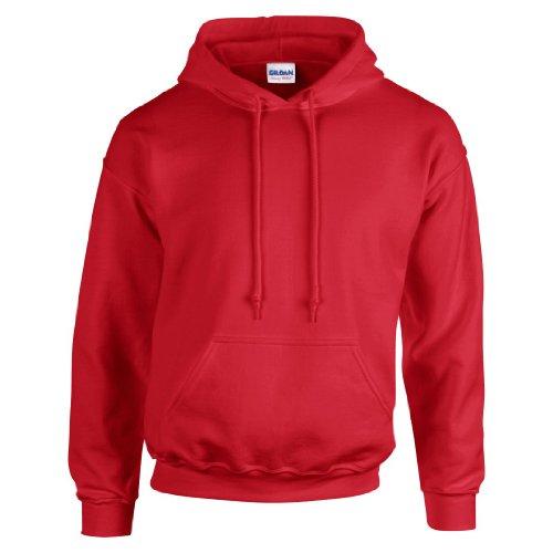 Gildan 18500 Hooded Sweatshirt - Red - XL (Red Hoodie)