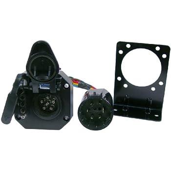 amazon com tekonsha 118247 7 way tow harness wiring package automotive rh amazon com