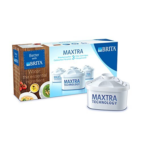 3 X Brita Maxtra Water Filter Cartridge 3 Pack by Brita