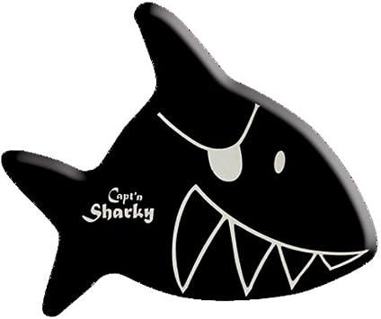 Gomas de borrar Tiburon Negro de Capitan Sharky: Amazon.es ...