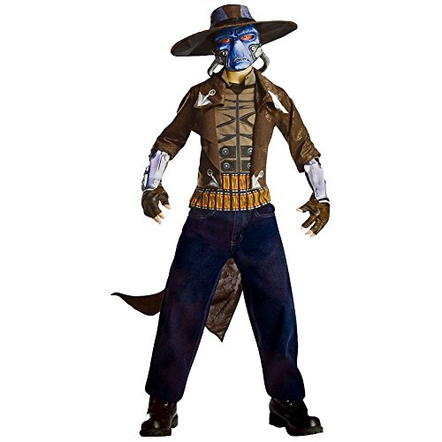 Rubies Clone Wars Cad Bane Outfit Kids Bounty Hunter Costume L -