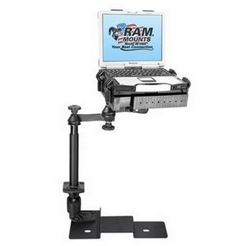 RAM Mounts (RAM-VB-109A-SW1) No-Drill Laptop Mount for the Ford F-150 and Lincoln Mark ()