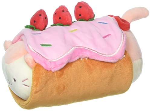 Anirollz GM 8034 Roll Cake Blanket with Soft & Squishy Kittiroll (Small) Plush