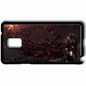 Personalized Samsung Note 4 Cell phone Case/Cover Skin Art Beauty And The Beast Monster Horn Snout Black