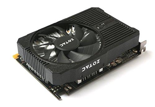 Zotac GeForce GTX 1050 Ti Mini GeForce GTX 1050 Ti 4GB GDDR5 - Tarjeta gráfica (GeForce GTX 1050 Ti, 4 GB, GDDR5, 128 bit, 7680 x 4320 Pixeles, PCI ...