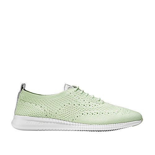 Cole Haan Women's 2 Zerogrand Oxford with Stitchlite 9 Ambrosia Knit-Optic White by Cole Haan
