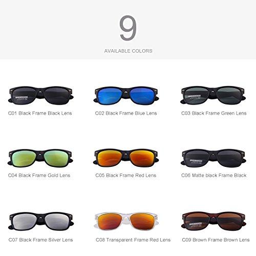 273ae25e2d MERRY S Retro Rewind Classic Polarized Wayfarer Sunglasses - Import It All