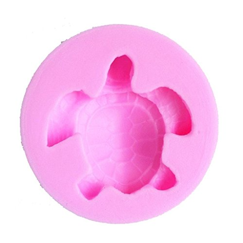 Turtle Shaped Silicone Candy Fondant Chocolate Making Mold Cake Decorating Mould (Shower Candy Mold)