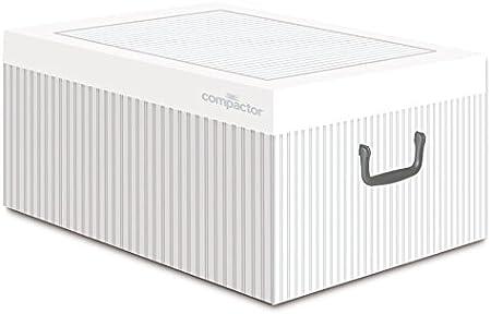 Compactor Anton - Caja de cartón de 50 x 40 x 25 cm, Color Blanco ...