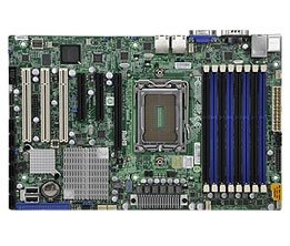 Supermicro A+ H8SGL AMD Motherboard ATX Form Factor Single Opteron 6000 series 1944-pin Socket G34 up to 256GB DDR3 RAMS 2 Dual-port GbE Lan 6 SATA2 ports via SP5100 RAID 0,1,10 Integrated Graphics Full Warranty ()