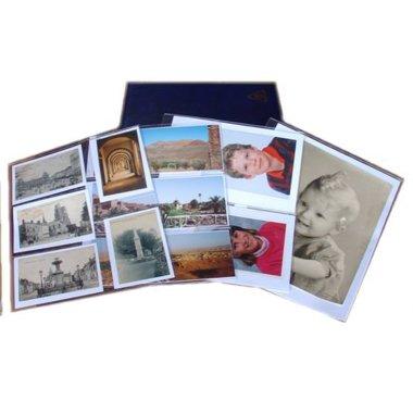 Philatéma Fundas de plástico para álbum de Fotos y Postales, 5 Compartimentos: Amazon.es: Hogar