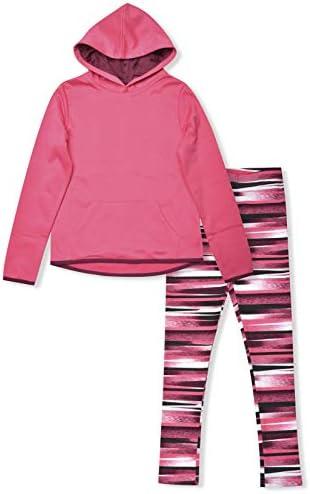 Cheetah Leggings Fleece Hooded Sweatshirt product image
