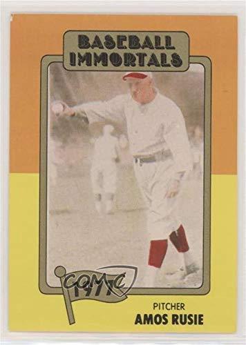 Amos Rusie (Baseball Card) 1980-87 Sspc Baseball Immortals - [Base] - 1St Printing #162.1