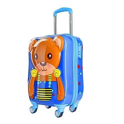 379fdb8d6de7 Amazon.com: Ly-lgx Cartoon Suitcase 3D Stereo Bunny Cute Children's ...