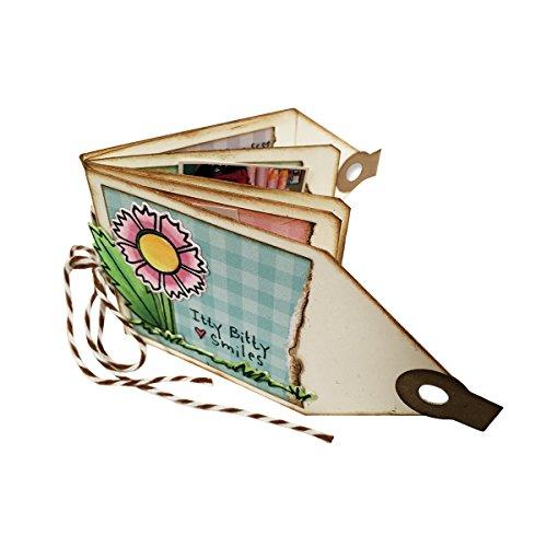(Spellbinders S5-282 Shapeabilities Mini Tag Book)