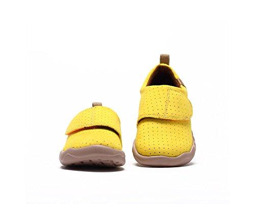 Jaune Loisir Microfibre on De enfant Toledo Chaussure Uin Enfants Des Petit Slip IP4Mq