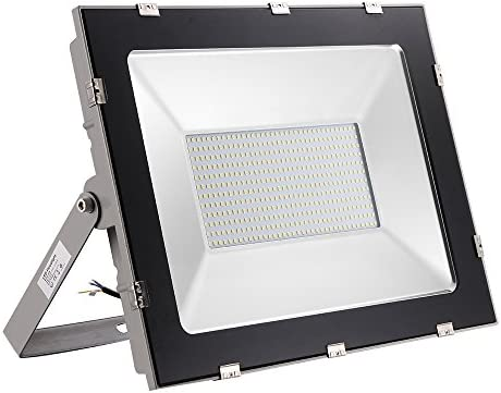 2 Piezas 300W Floodlight Foco LED Proyector de Luz Lámpara IP65 Impermeable Iluminación Exterior, Iluminación para Jardín al Aire Libre, Patio, ...
