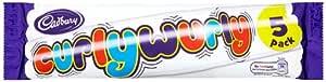 Cadbury Curly Wurly 5 Bars (Pack of 7, Total 35 Bars)