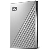 WD 2TB My Passport Ultra for Mac Silver Portable External...