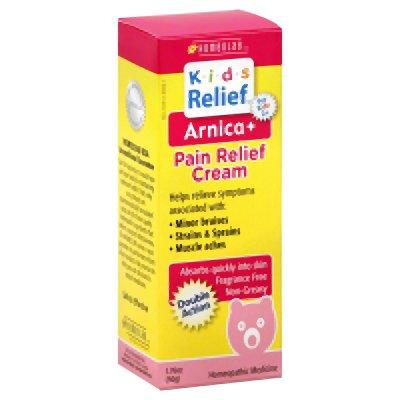 Enfants de secours Arnica plus Soulagement de la douleur crème, 1,76 once