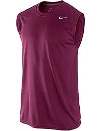 Men's Nike Legend Polyester Sleeveless T-Shirt Black