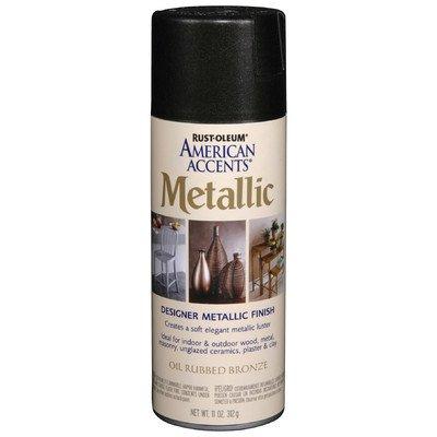 11 Oz Oil Rubbed Bronze Metallic Spray Paint [Set of 6]